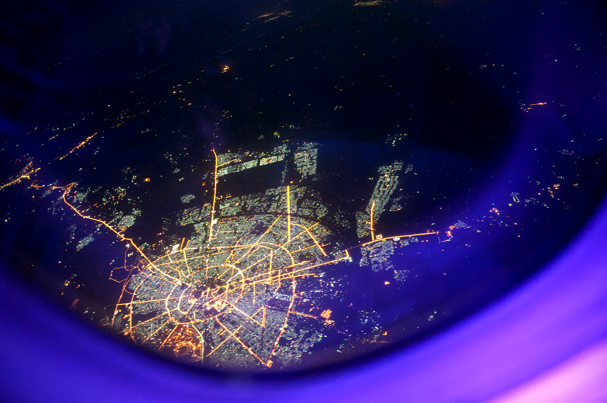 Flight over Iraq Erbil