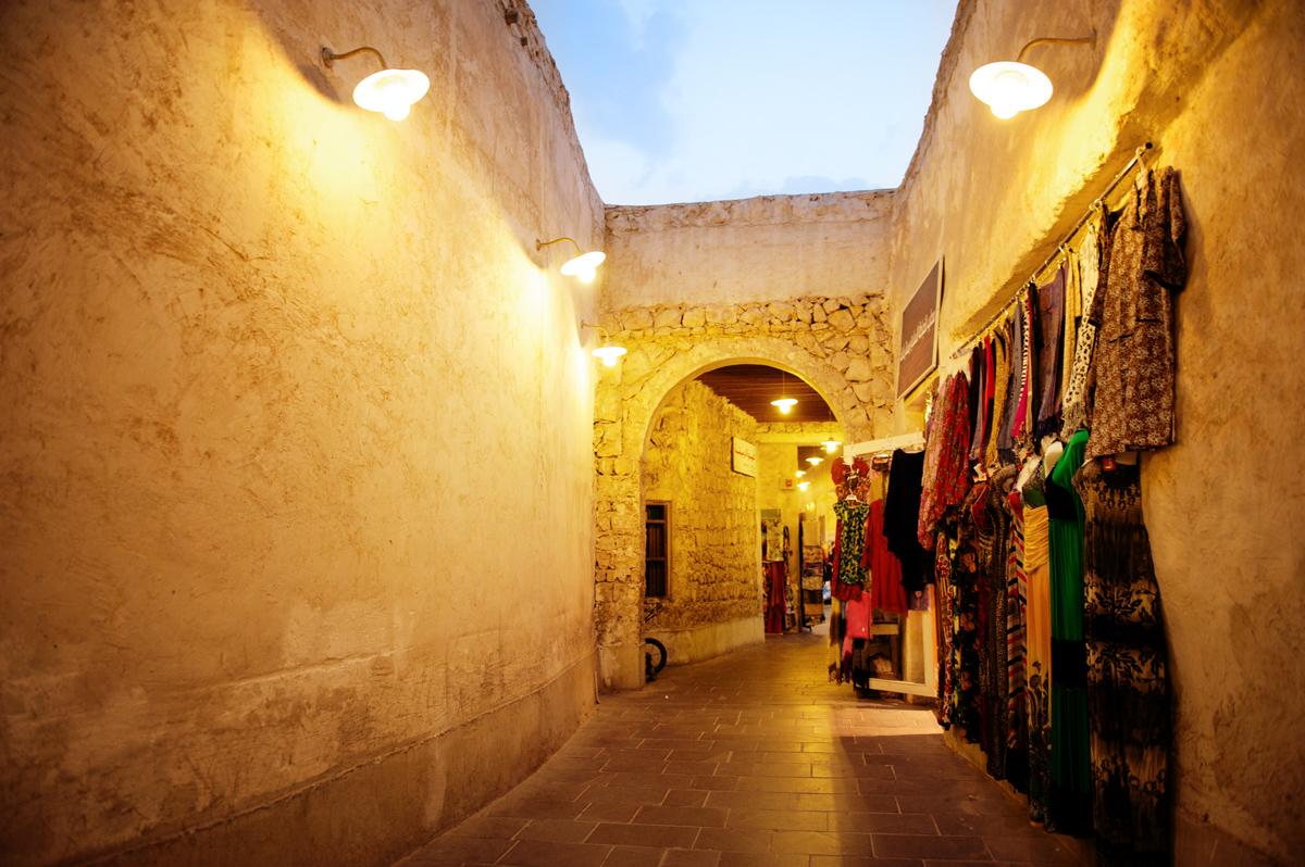Souq Maqif night market photo Qatar