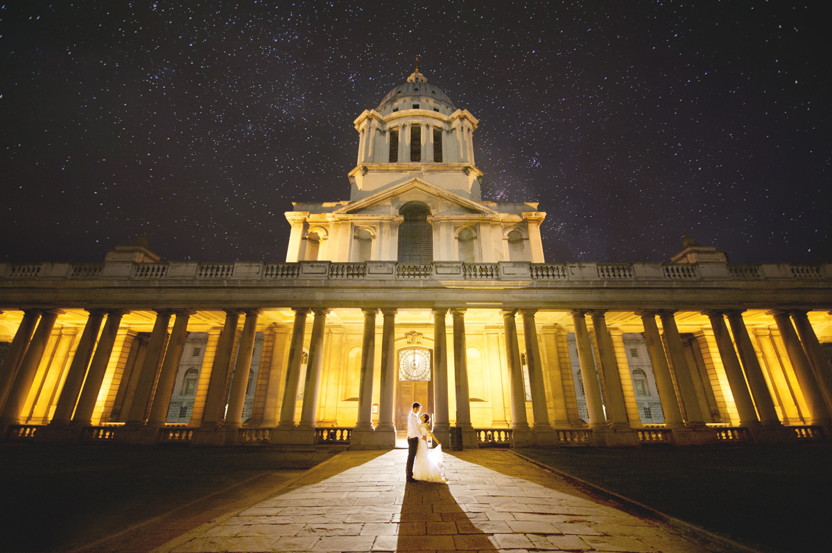 Wedding Greenwich Old Royal Naval College small