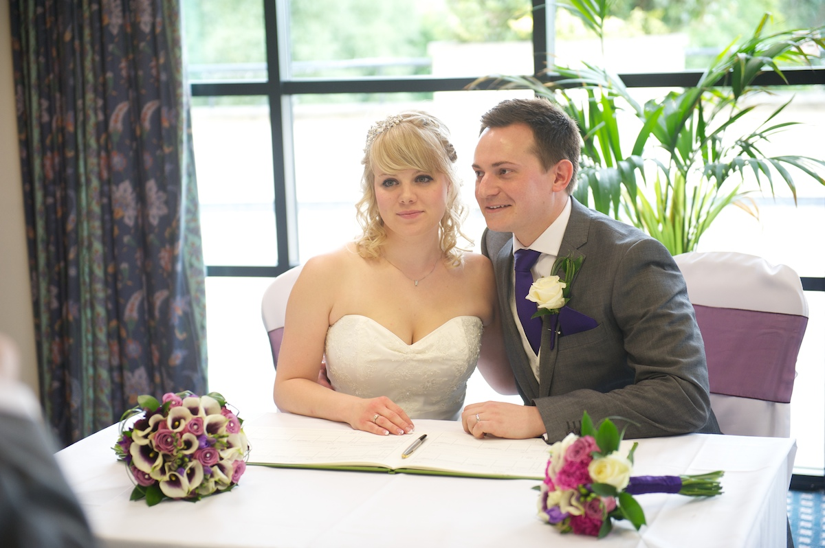Crown Plaza Hotel Colchester Wedding - Angharad & Dave34