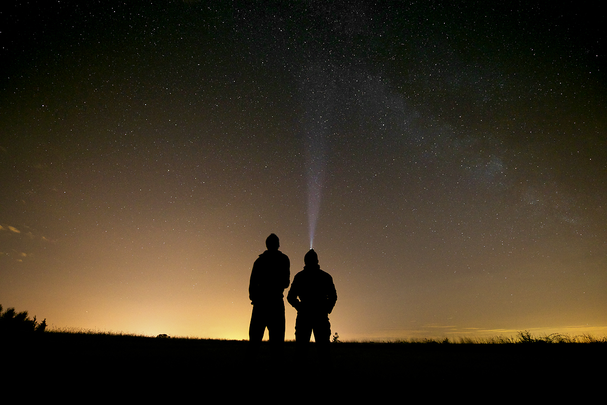 Laurie & Owen meteor shower Colchester small