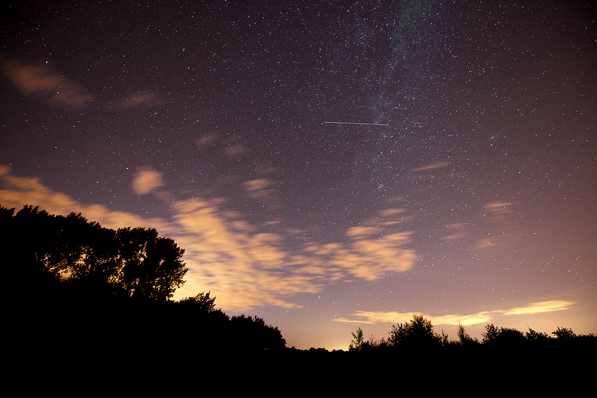 meteor shower small