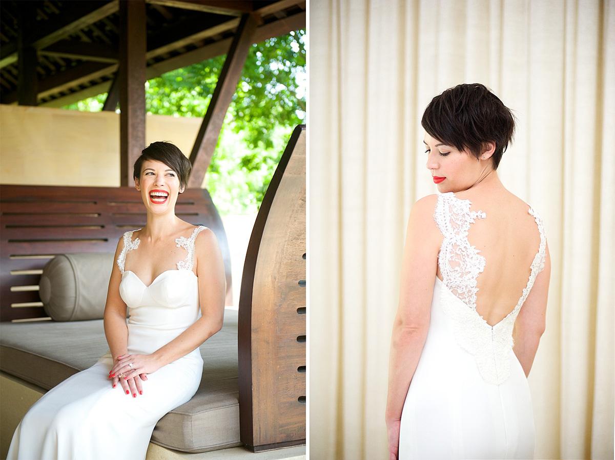 Phulay Bay Krabi Wedding dress 2