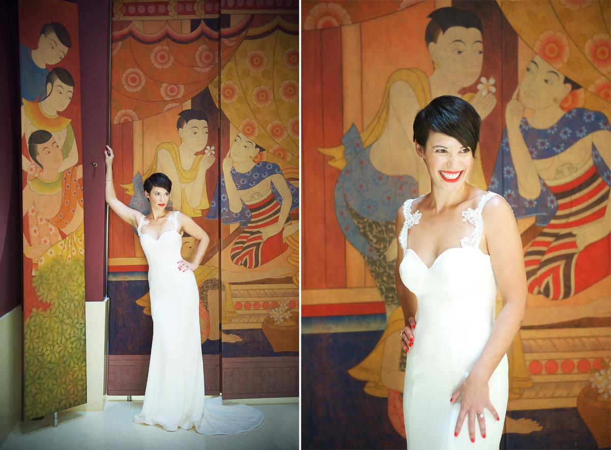 Phulay Bay Krabi Wedding dress