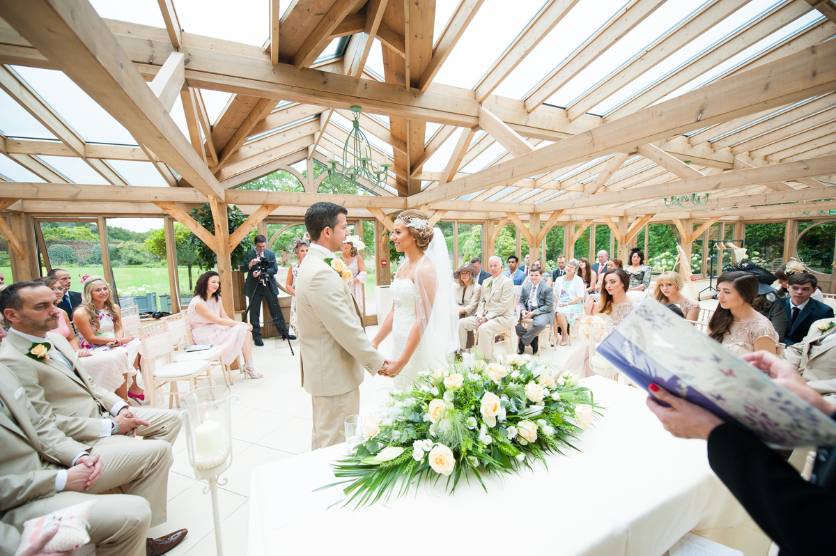 Gaynes Park Wedding - Amy & Darren-30