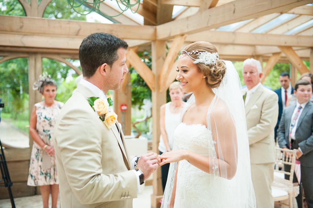 Gaynes Park Wedding - Amy & Darren-31
