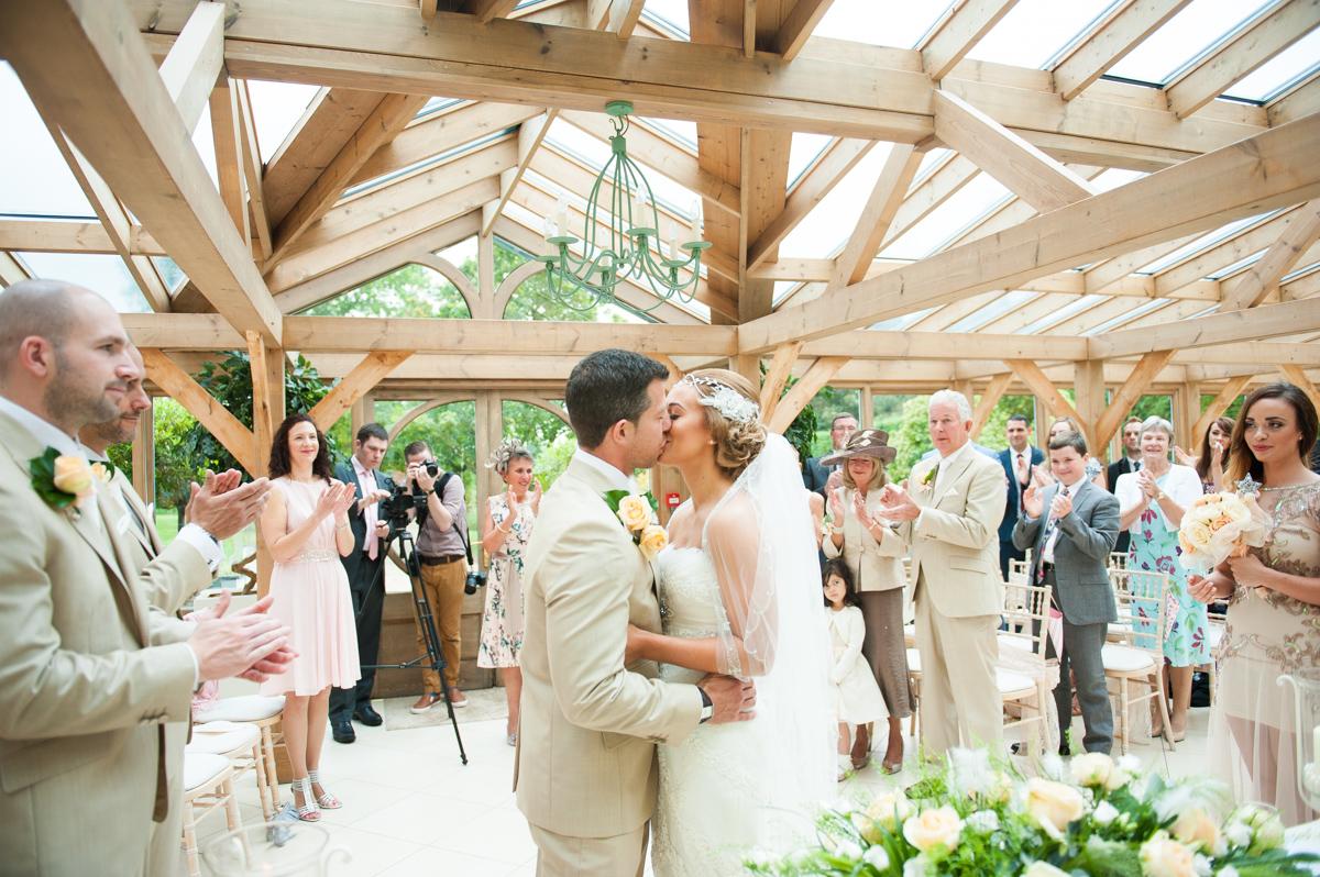 Gaynes Park Wedding - Amy & Darren-32
