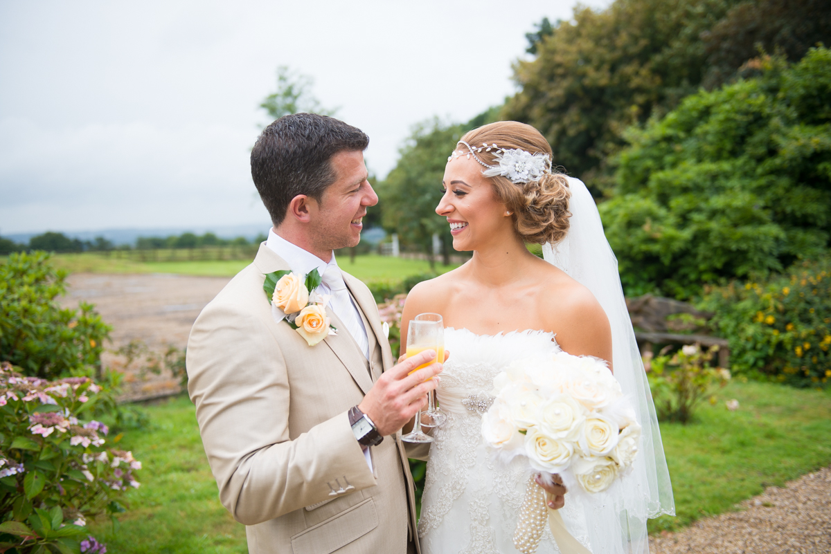 Gaynes Park Wedding - Amy & Darren-36