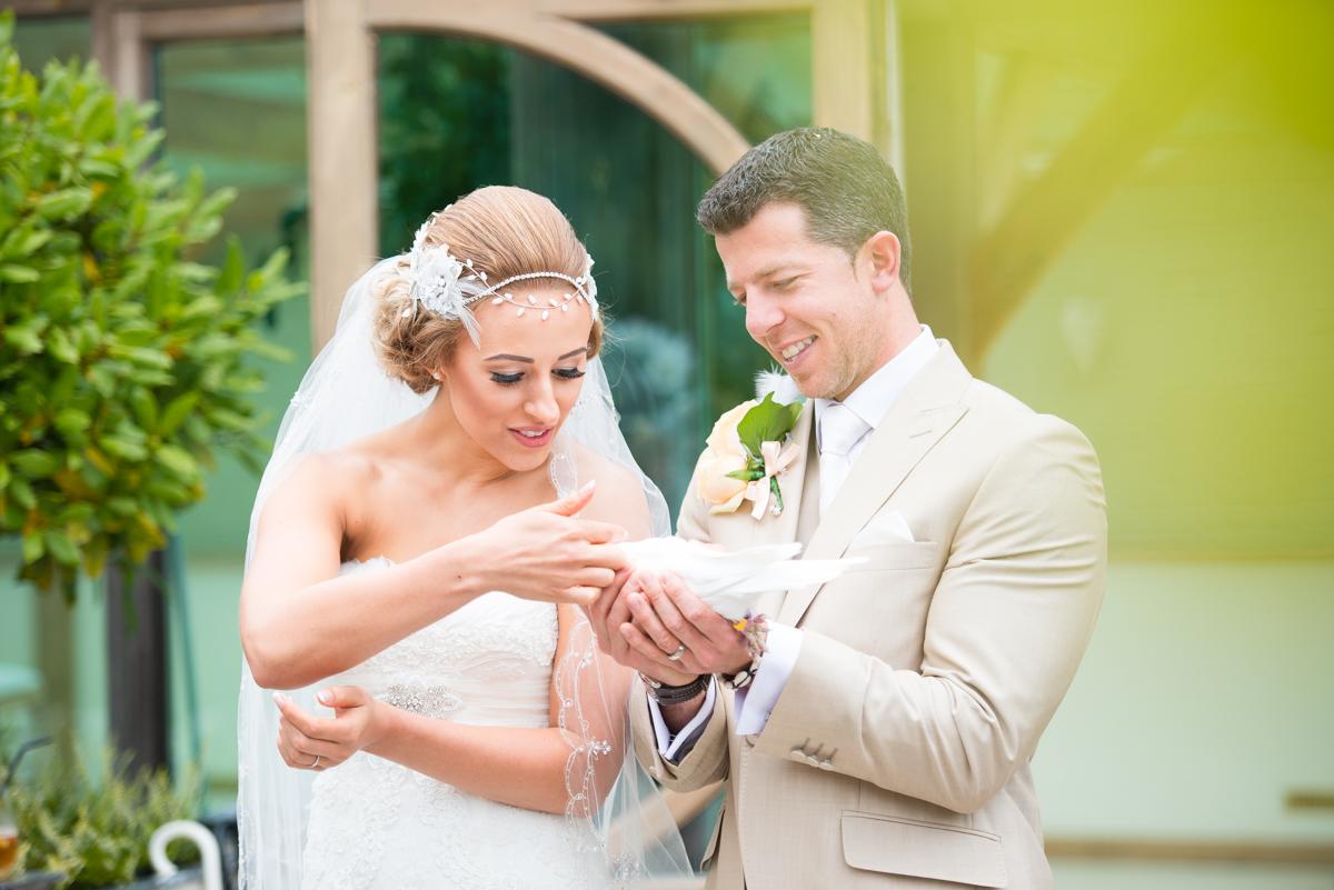 Gaynes Park Wedding - Amy & Darren-38