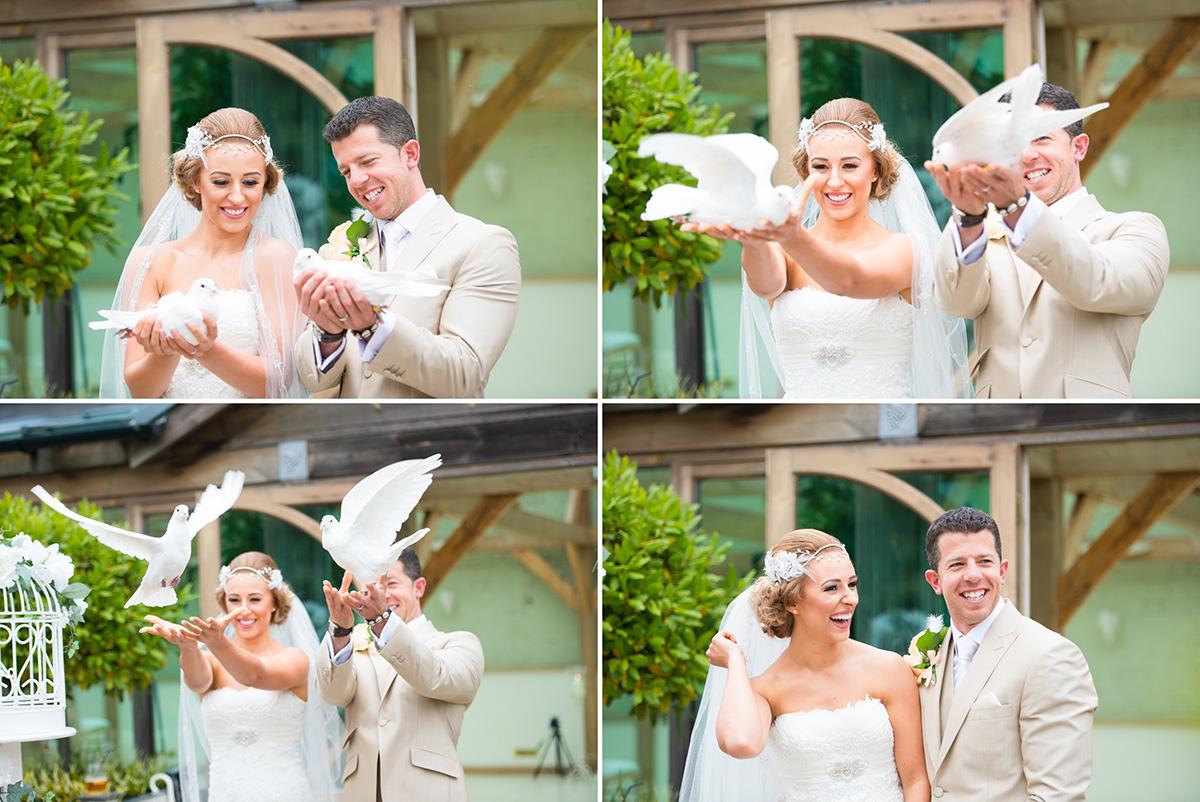 Gaynes Park Wedding - Amy & Darren-42