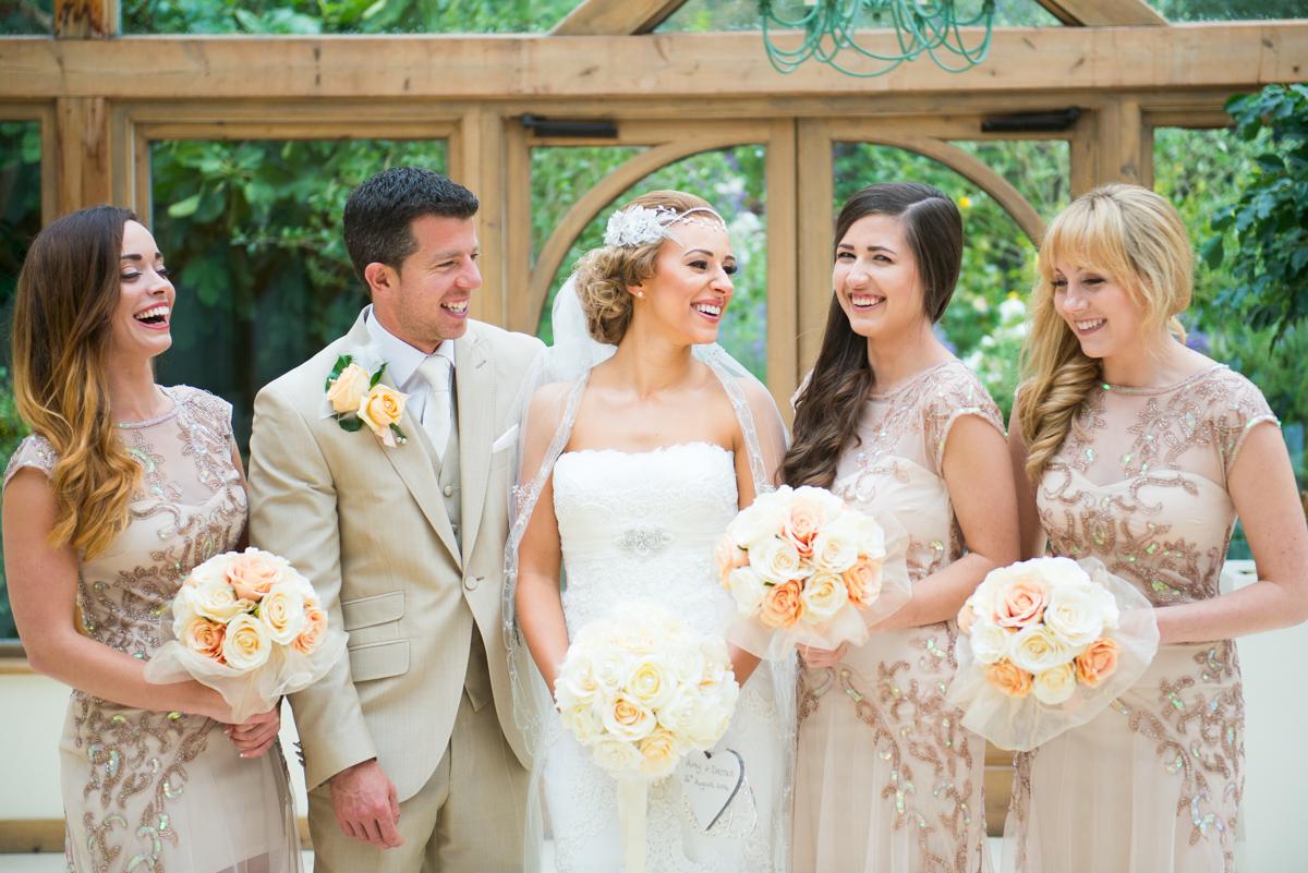 Gaynes Park Wedding - Amy & Darren-46