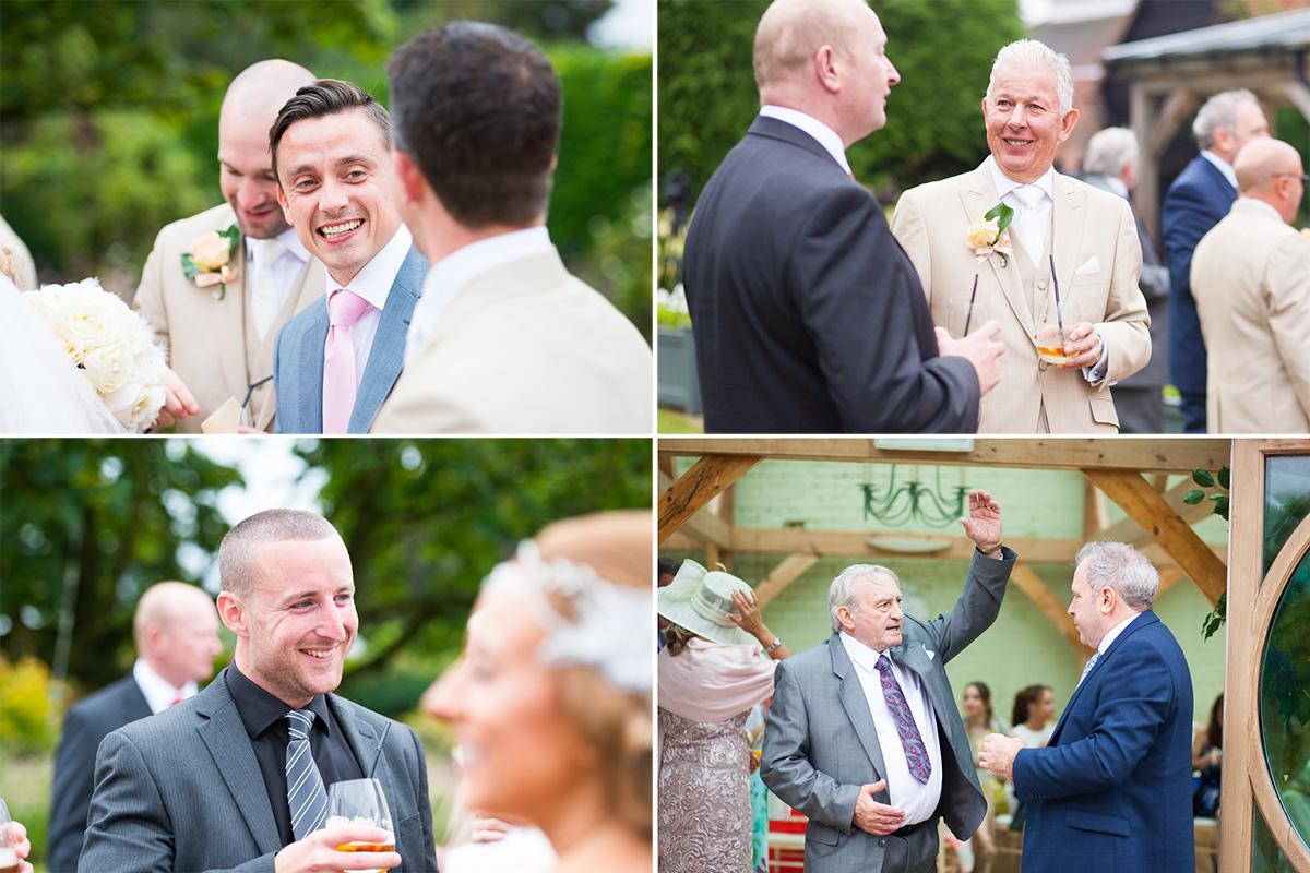 Gaynes Park Wedding - Amy & Darren-48