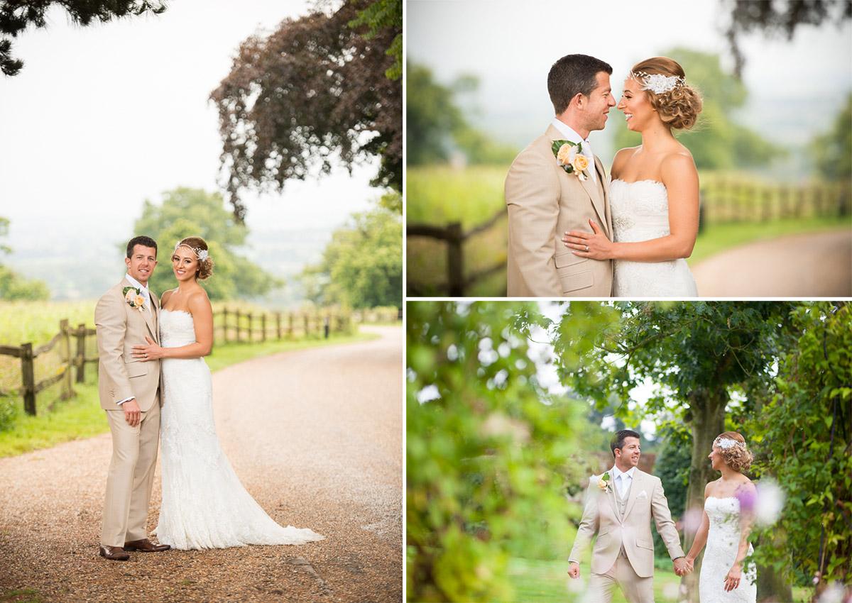Gaynes Park Wedding - Amy & Darren-60