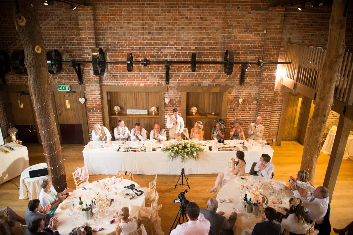 Gaynes Park Wedding - Amy & Darren-70