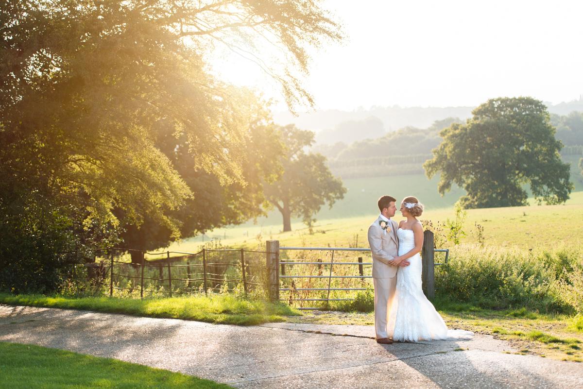 Gaynes Park Wedding - Amy & Darren-75