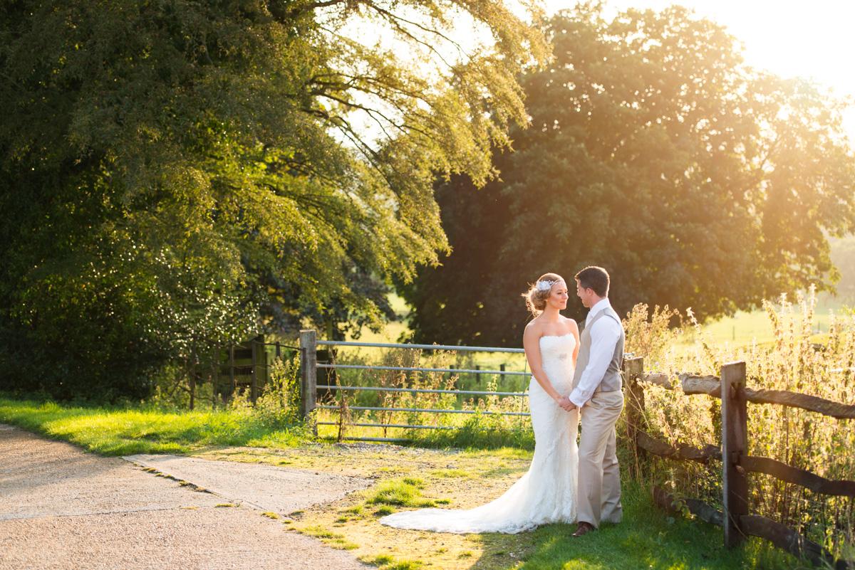 Gaynes Park Wedding - Amy & Darren-80