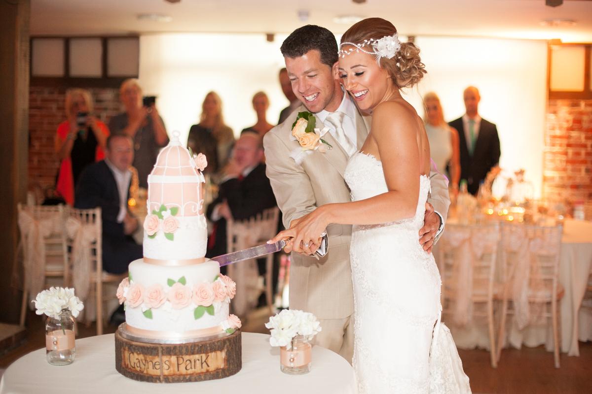 Gaynes Park Wedding - Amy & Darren-81