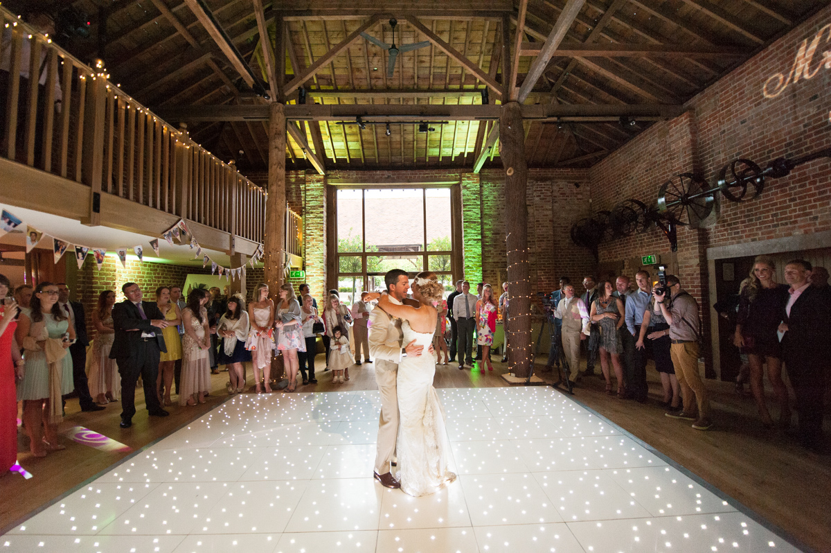 Gaynes Park Wedding - Amy & Darren-83