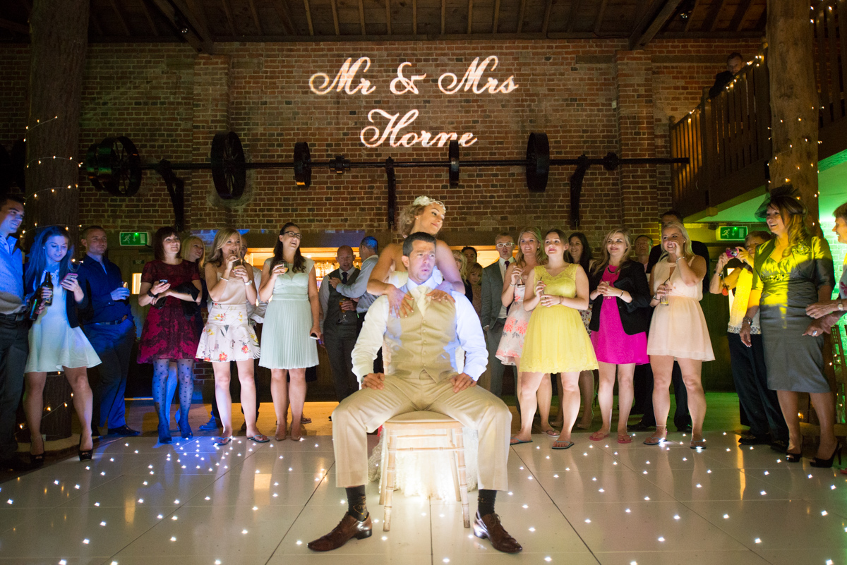Gaynes Park Wedding - Amy & Darren-91