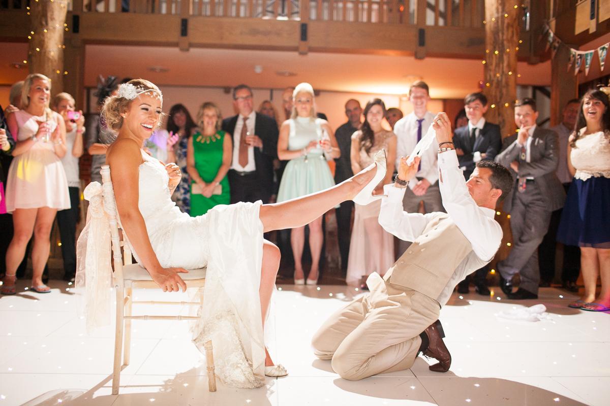 Gaynes Park Wedding - Amy & Darren-96