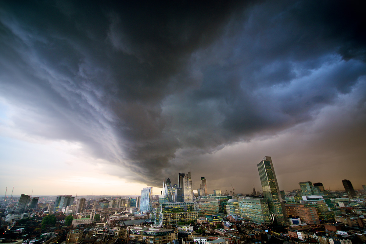 Hurricane Bertha London City