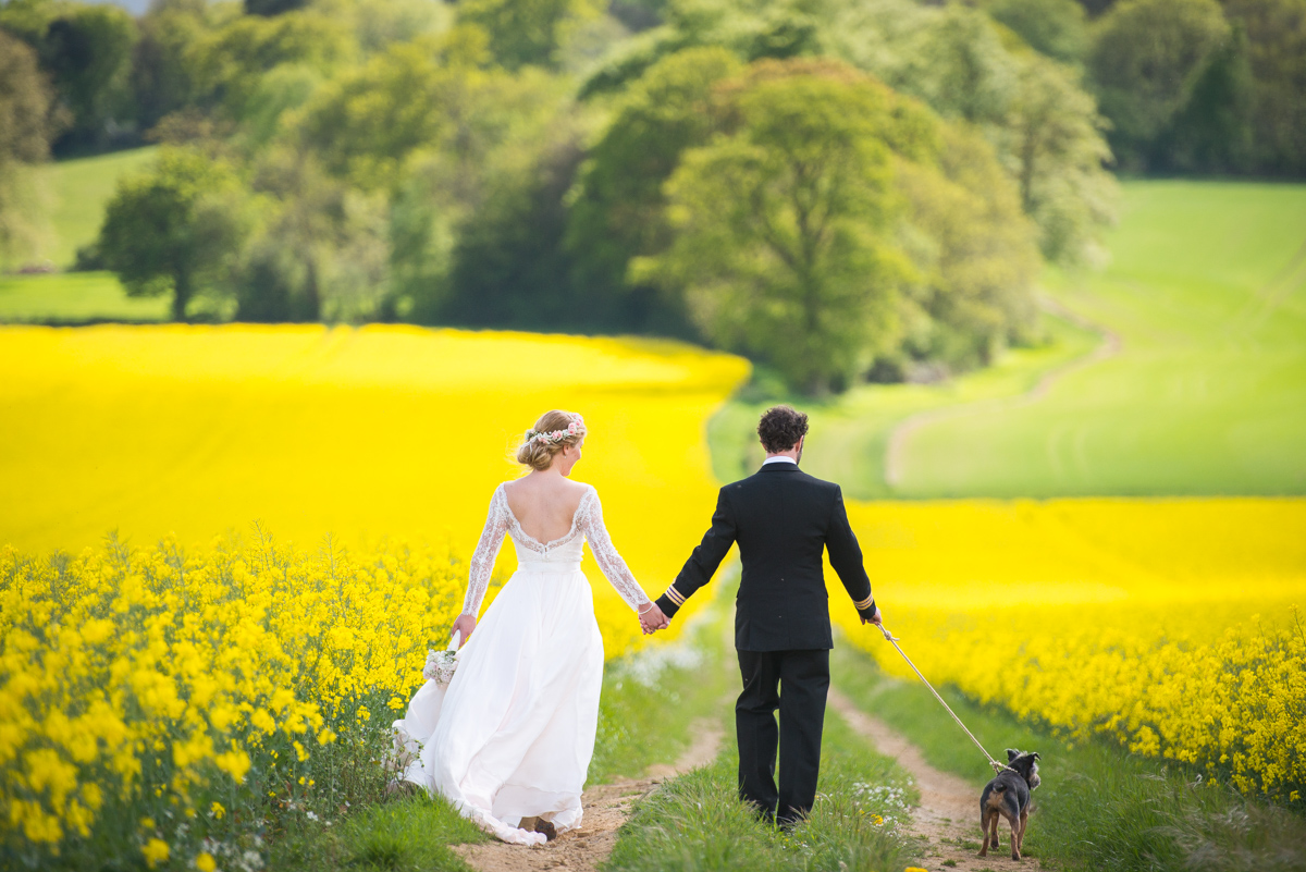 Fitzleroi Barn Wedding, South Downs - Romilly & Tom -57