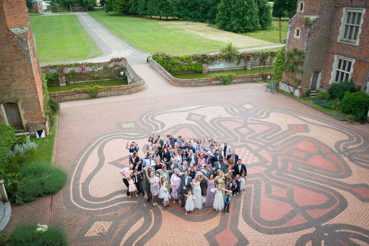 Kentwell Hall Wedding Suffolk - Abi & Gareth -39