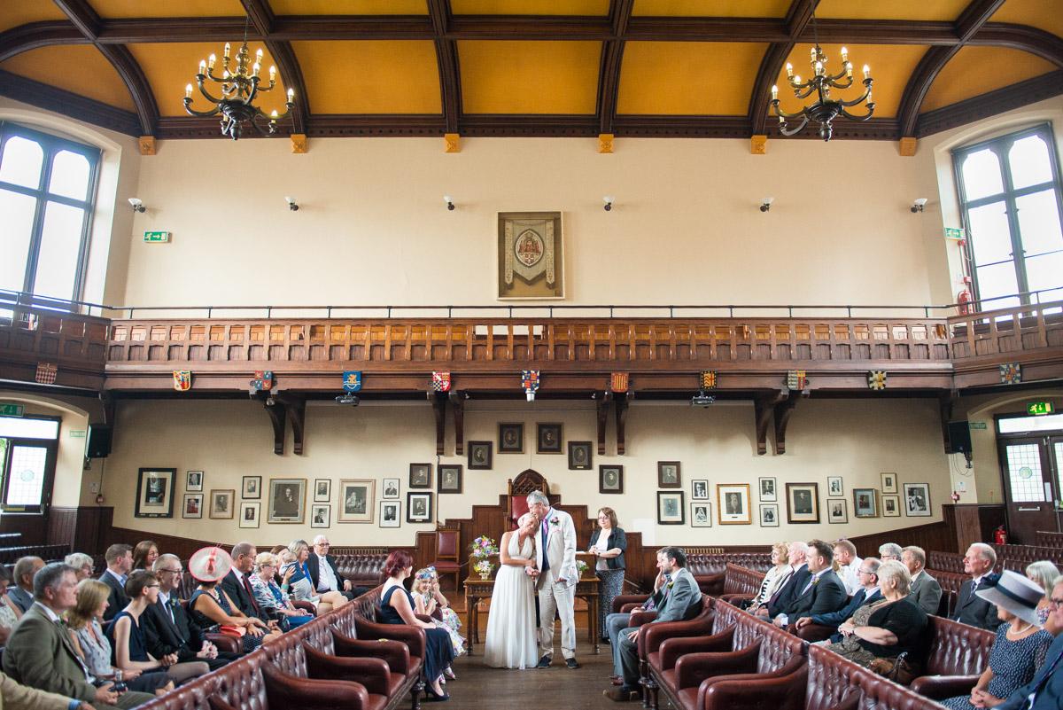 Cambridge Union Society Wedding - Carrie & Steve-27