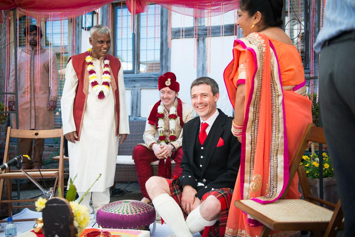 Priory Hall Wedding Suffolk - Rekha & Adam-12