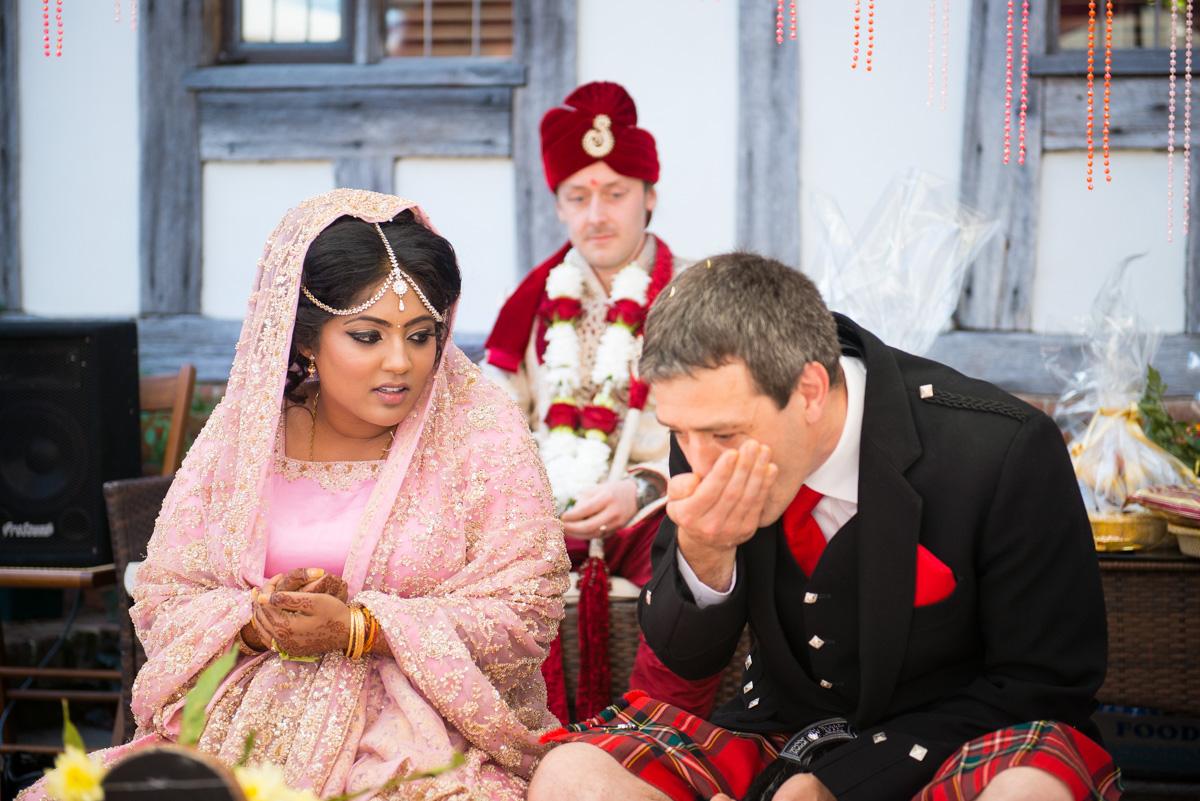 Priory Hall Wedding Suffolk - Rekha & Adam-16