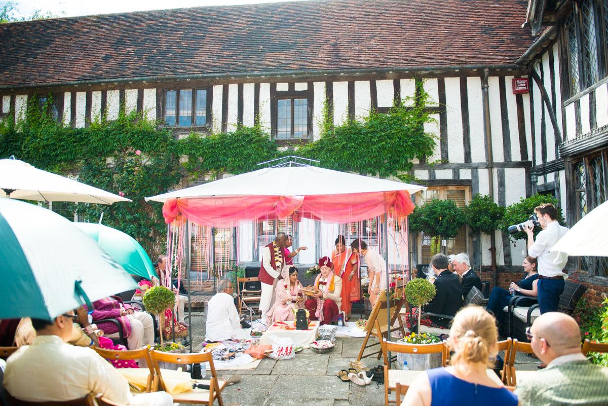 Priory Hall Wedding Suffolk - Rekha & Adam-34