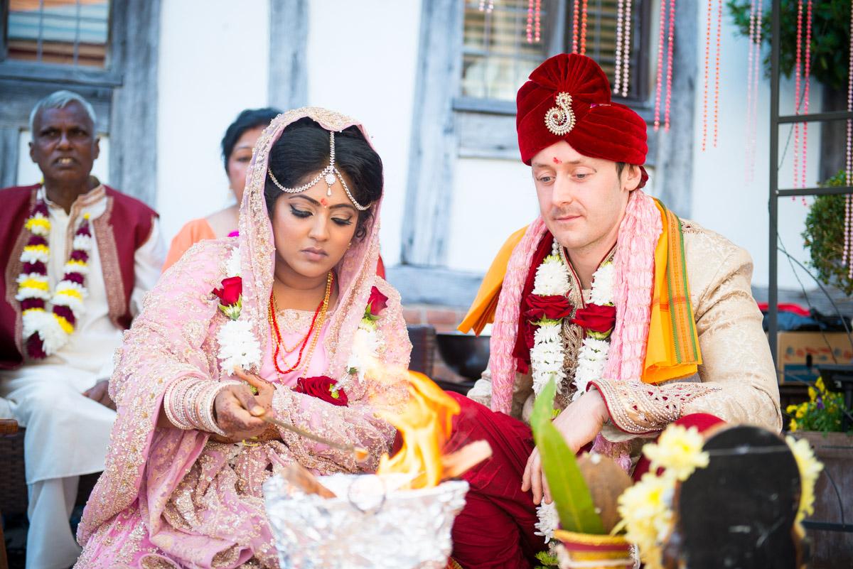 Priory Hall Wedding Suffolk - Rekha & Adam-35