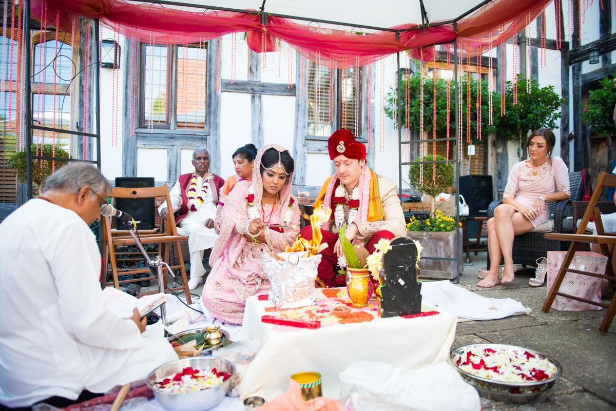 Priory Hall Wedding Suffolk - Rekha & Adam-36