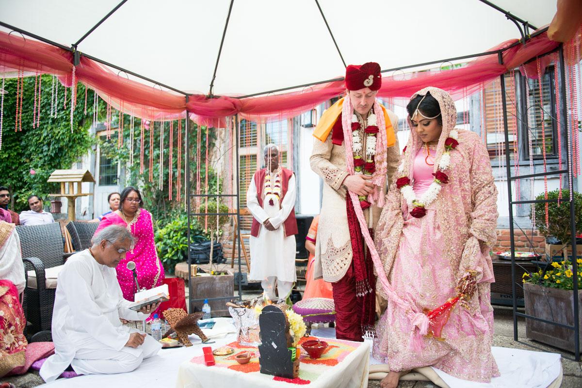 Priory Hall Wedding Suffolk - Rekha & Adam-38