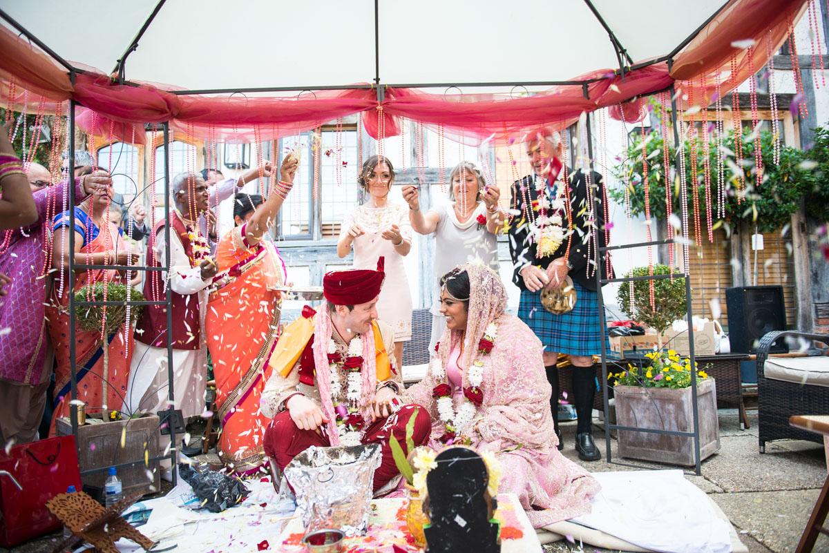 Priory Hall Wedding Suffolk - Rekha & Adam-40