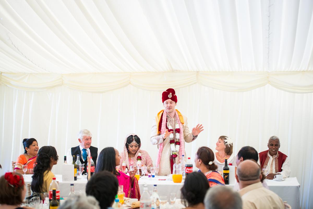 Priory Hall Wedding Suffolk - Rekha & Adam-62