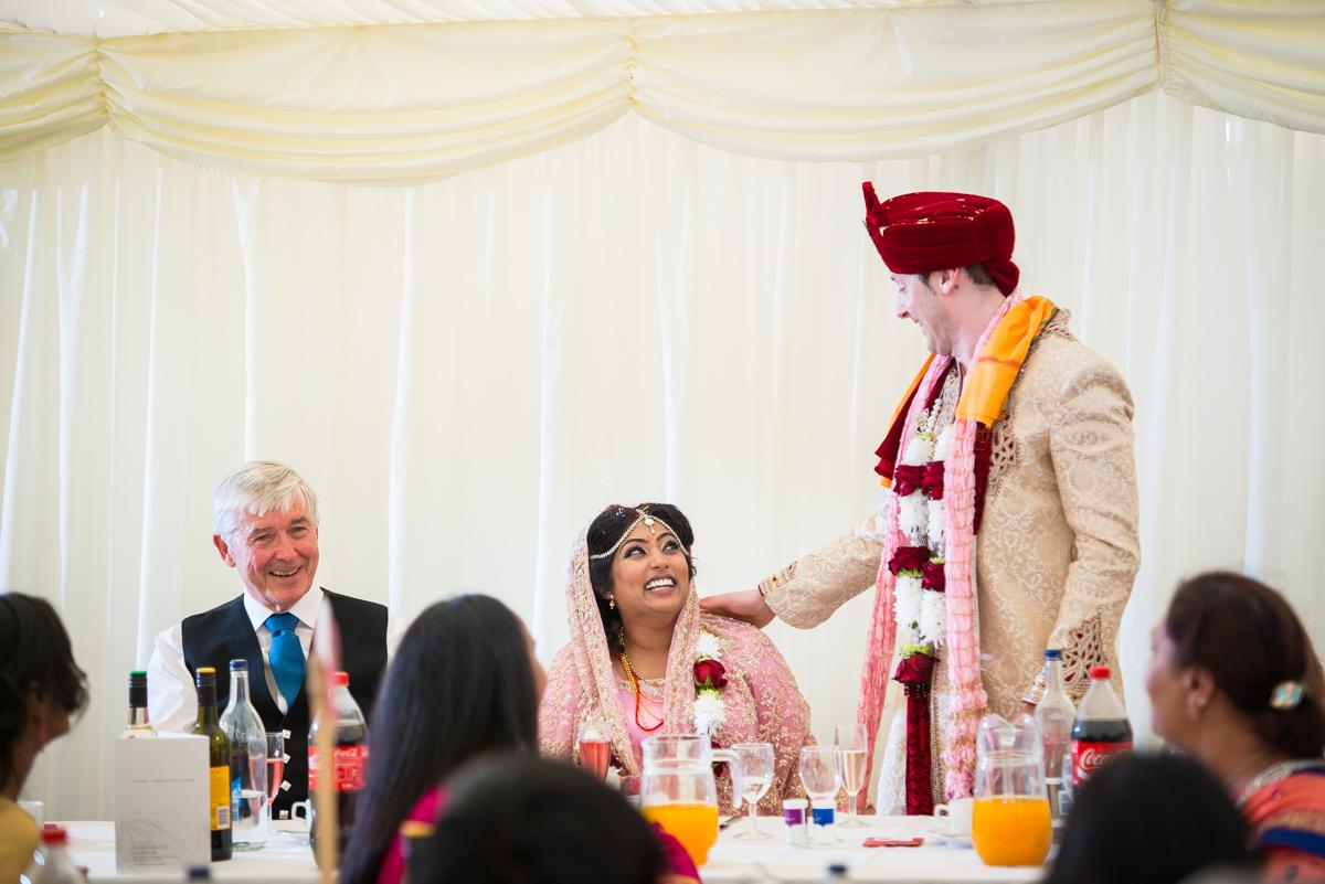 Priory Hall Wedding Suffolk - Rekha & Adam-64