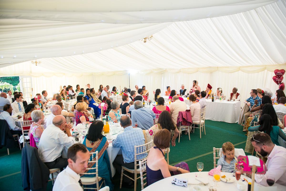 Priory Hall Wedding Suffolk - Rekha & Adam-67