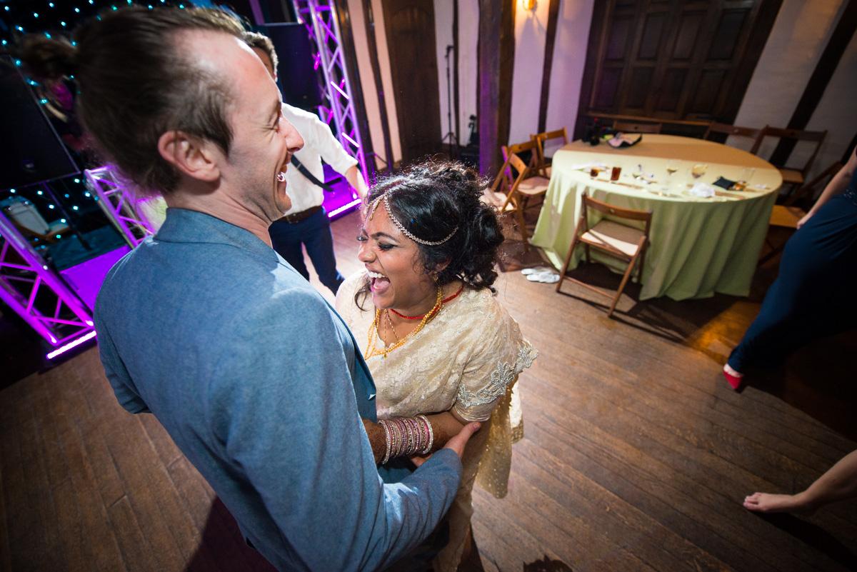 Priory Hall Wedding Suffolk - Rekha & Adam-93