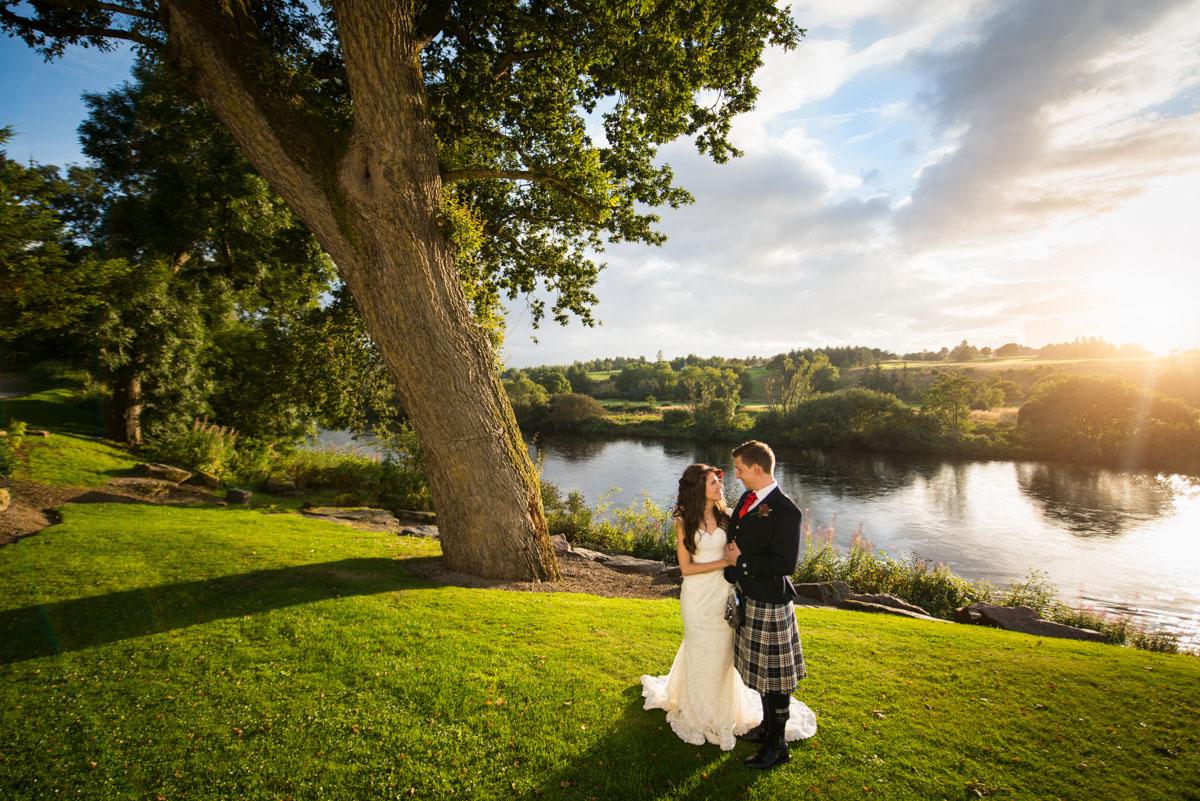 Maryculter House Hotel Wedding Scotland - Sorina & Craig-56