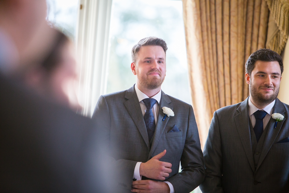 Wivenhoe House Wedding Photographer - Lisa & Pat-21