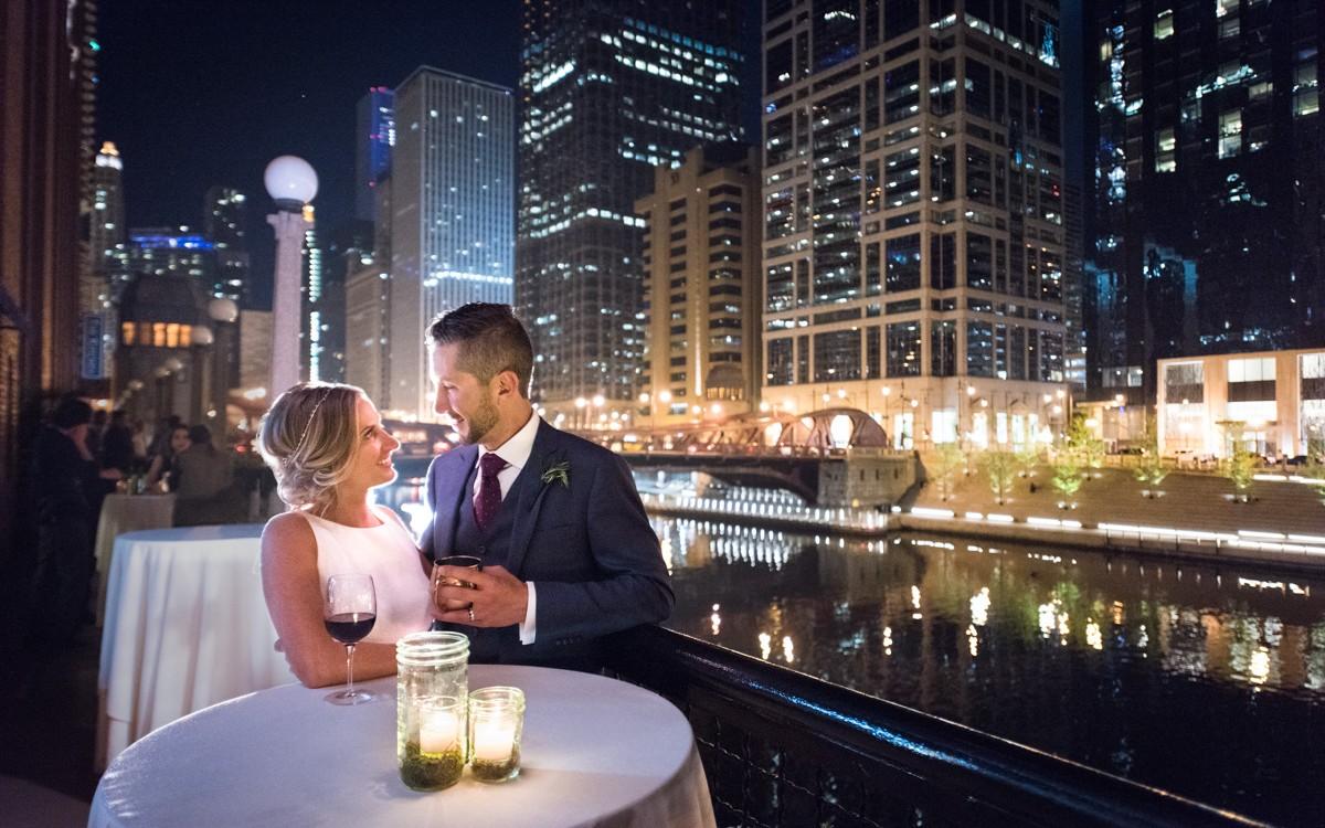 River Roast Wedding, Chicago - Megan & David