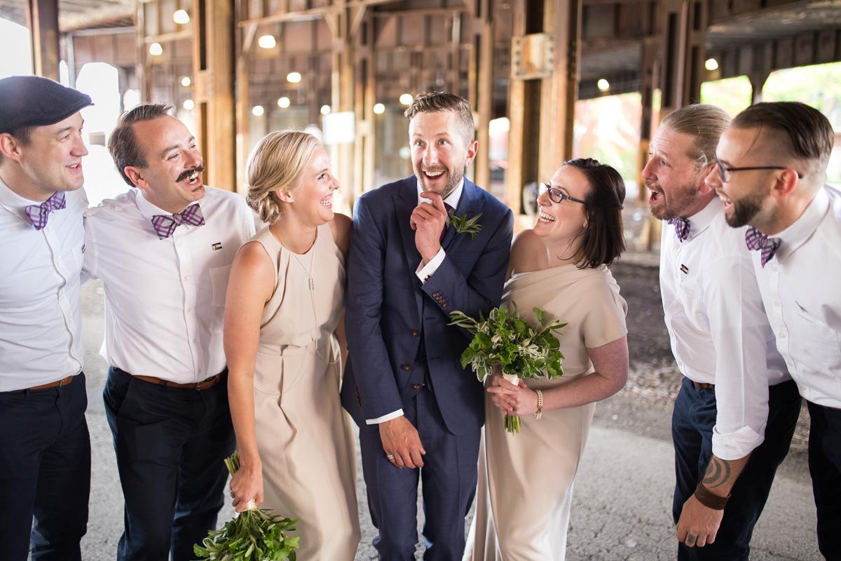 River Roast Wedding Chicago - Megan & David-60
