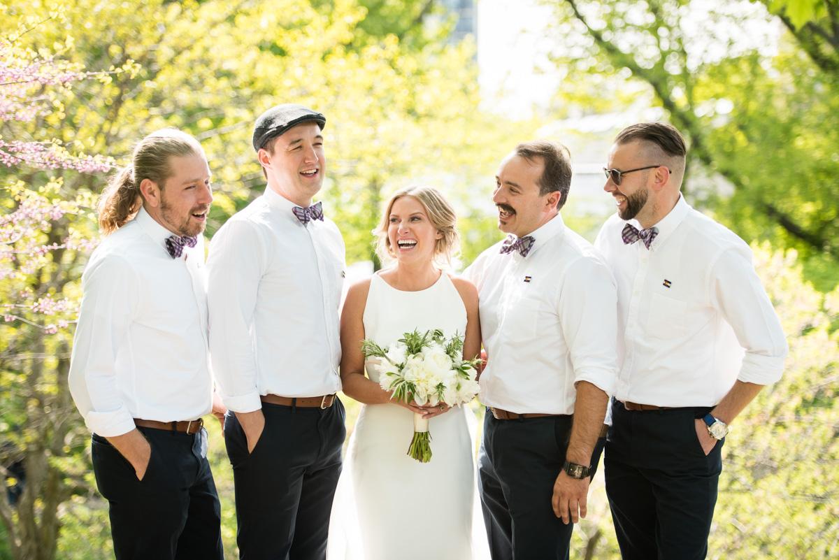 River Roast Wedding Chicago - Megan & David-65
