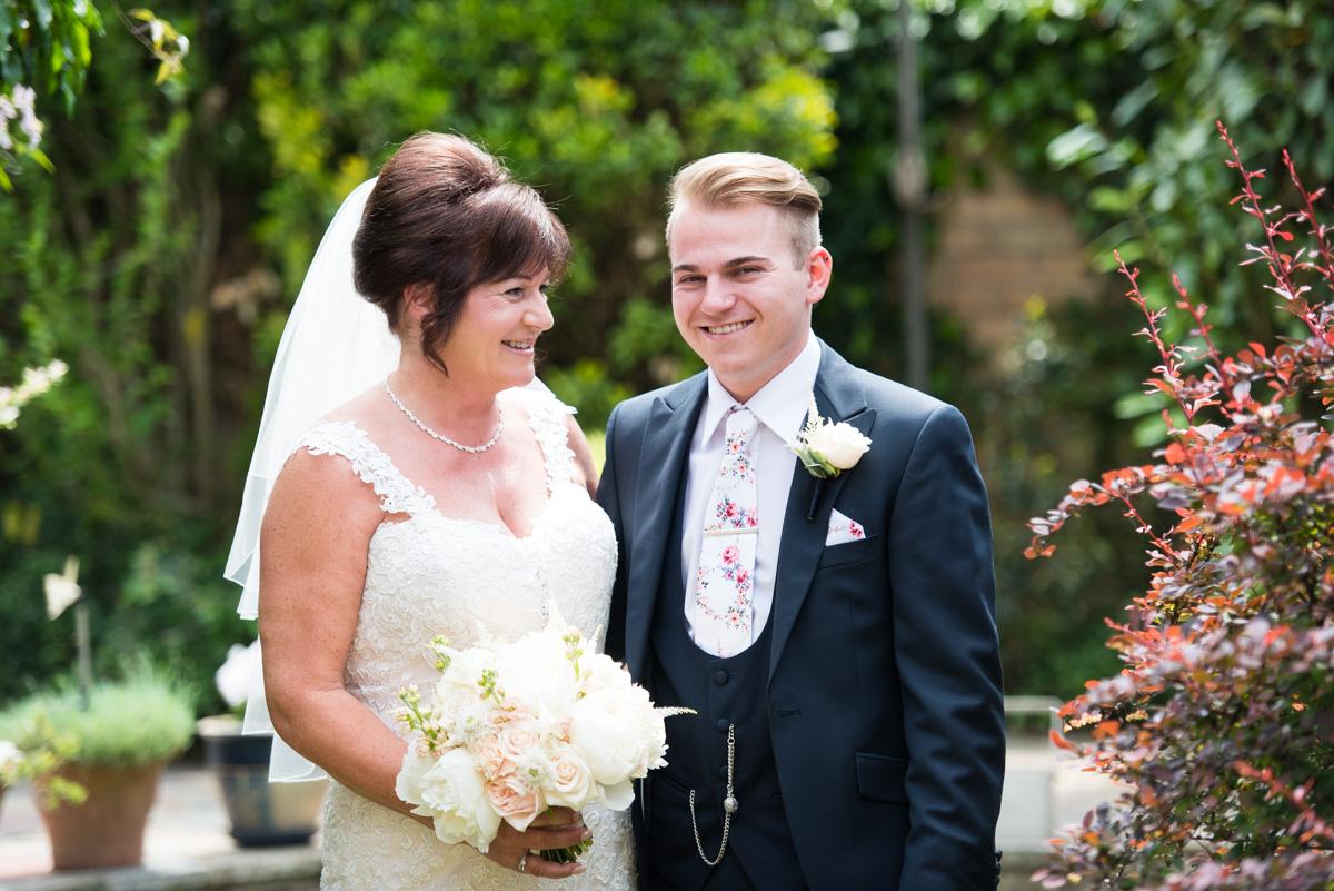 Ye Olde Plough House Wedding - Karen & Dave -11