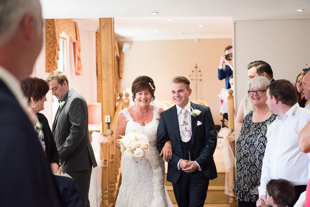 Ye Olde Plough House Wedding - Karen & Dave -14