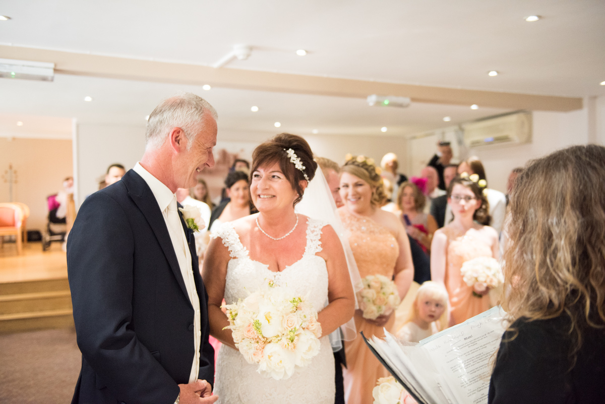 Ye Olde Plough House Wedding - Karen & Dave -15