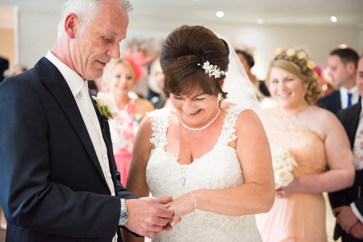 Ye Olde Plough House Wedding - Karen & Dave -17