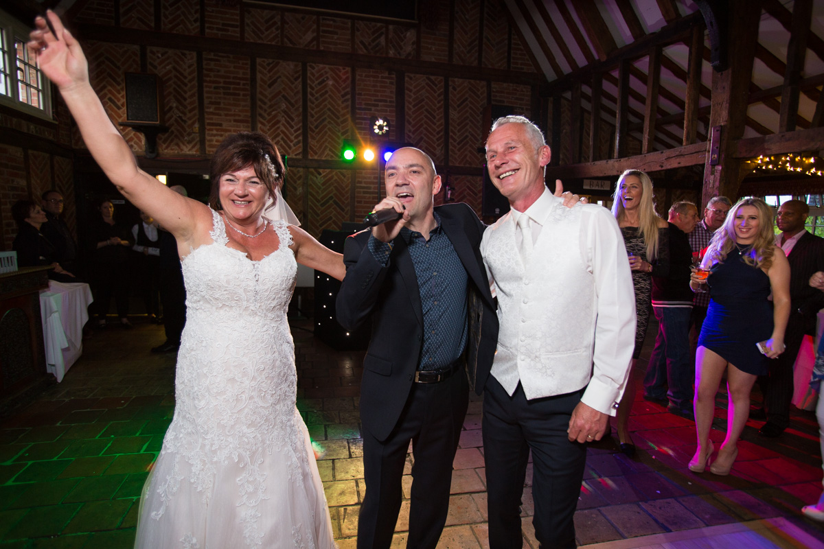 Ye Olde Plough House Wedding - Karen & Dave -62