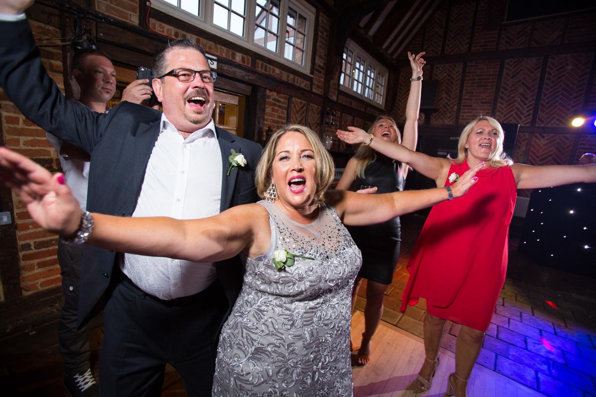 Ye Olde Plough House Wedding - Karen & Dave -66